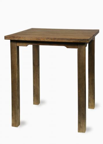 Walnut Farm Table Highboy 36u2033x 36u2033
