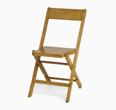 Varnished Wood Chair
