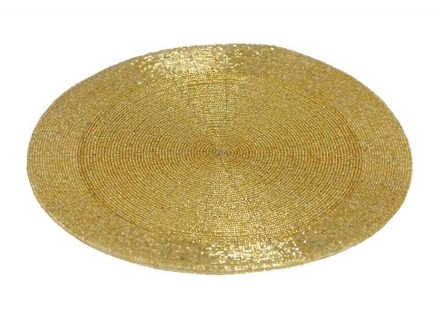 Gold Mat Charger Hall S